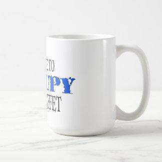 Occupy the Buffet  (the blue wave) Mug