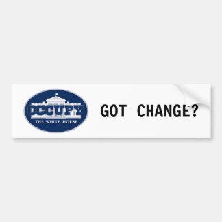 Occupy the Whitehouse Bumper Sticker
