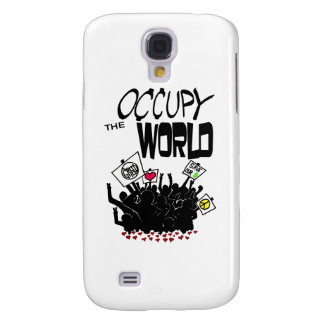 Occupy the World Galaxy S4 Covers