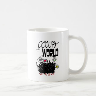Occupy the World Basic White Mug