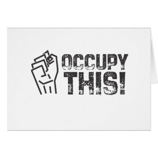 occupy this card