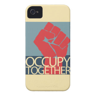 Occupy Together Protest Art Occupy Wall Street iPhone 4 Case-Mate Case