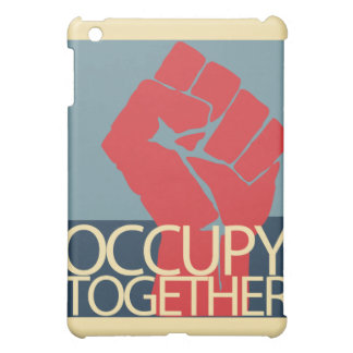Occupy Together Protest Art Occupy Wall Street iPad Mini Cover