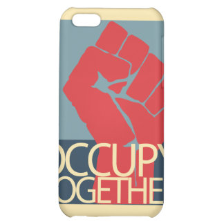 Occupy Together Protest Art Occupy Wall Street iPhone 5C Covers
