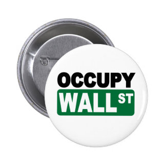 Occupy Wall St. 6 Cm Round Badge
