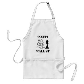 Occupy Wall St Adult Apron