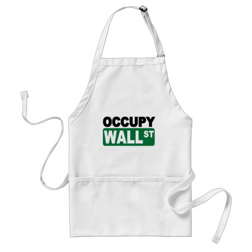 Occupy Wall St. Apron