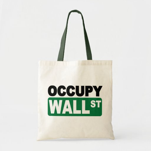 Occupy Wall St. Bags