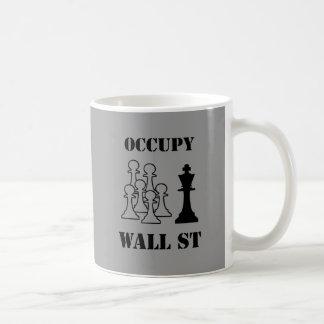 Occupy Wall St Basic White Mug