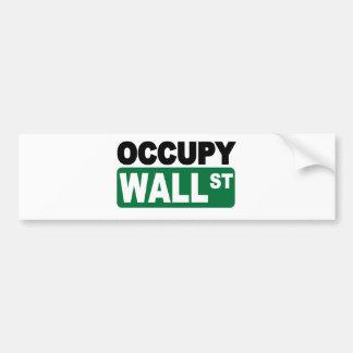 Occupy Wall St. Bumper Stickers
