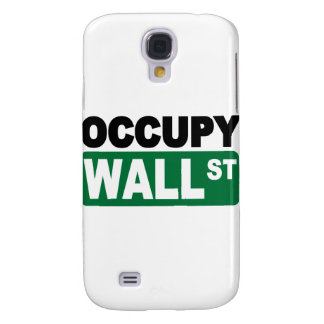 Occupy Wall St Galaxy S4 Cases