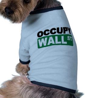 Occupy Wall St Doggie Tshirt