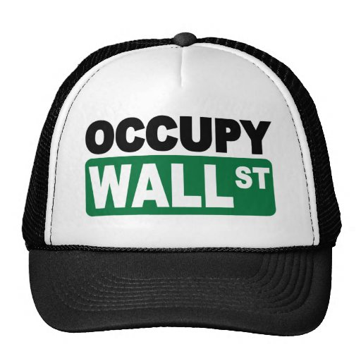 Occupy Wall St. Hats
