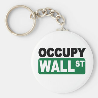 Occupy Wall St. Key Chains