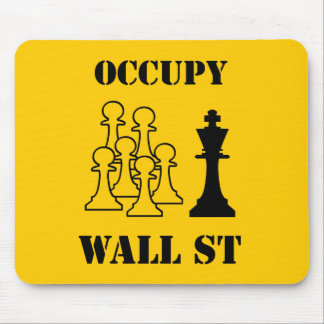 Occupy Wall St Mouse Pad