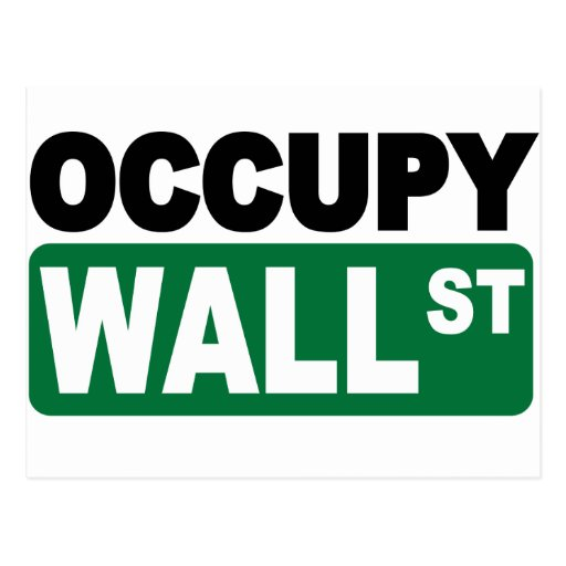 Occupy Wall St. Postcards
