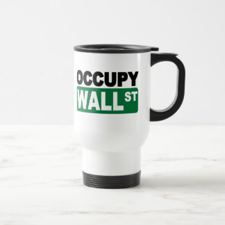 Occupy Wall St. Stainless Steel Travel Mug