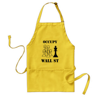 Occupy Wall St Standard Apron