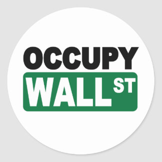 Occupy Wall St. Stickers