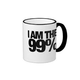 Occupy Wall Street 2011 Ringer Mug