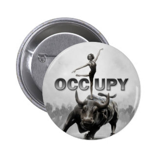 Occupy Wall Street 6 Cm Round Badge