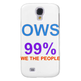 Occupy Wall Street 99% We the People Samsung Galaxy S4 Cover