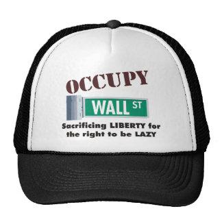 occupy wall street trucker hats
