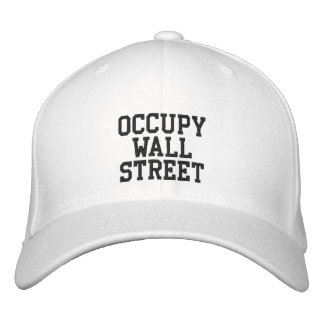 Occupy Wall Street Embroidered Hat