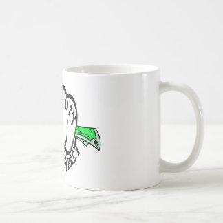 Occupy Wall Street Fist Basic White Mug