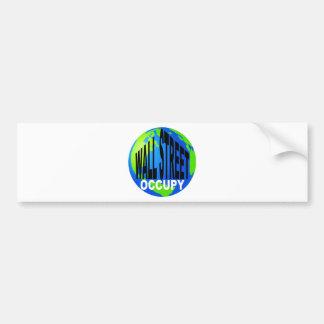 Occupy Wall Street Global Bumper Sticker