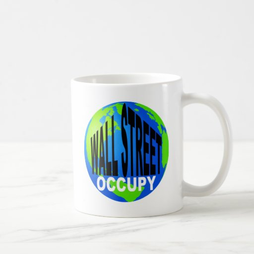 Occupy Wall Street Global Mugs