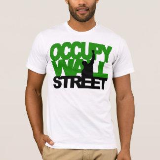 OCCUPY WALL STREET Green T-Shirt