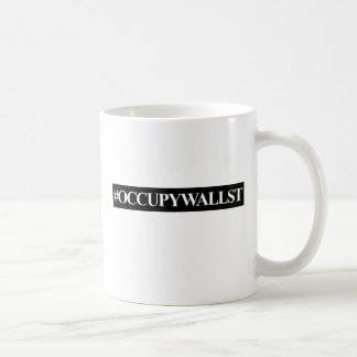 Occupy Wall Street Hashtag Mugs