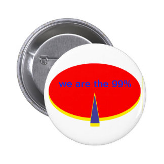 """occupy Wall Street incoming goods of acres the 99 6 Cm Round Badge"