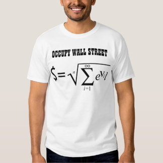 Occupy Wall Street Money Is the Root of all Evil Tshirt