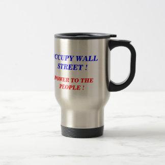 OCCUPY WALL STREET POWER TO THE PEOPLE MUG