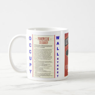 Occupy Wall Street Principles of Solidarity Mugs