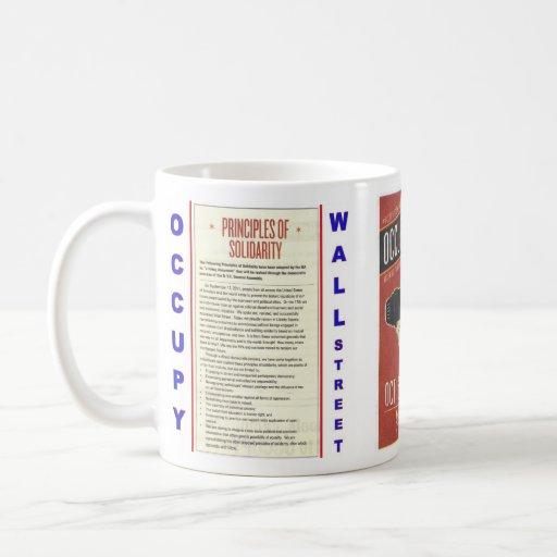 Occupy Wall Street Principles of Solidarity Mugs