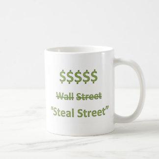 Occupy Wall Street Retro Coffee Mug