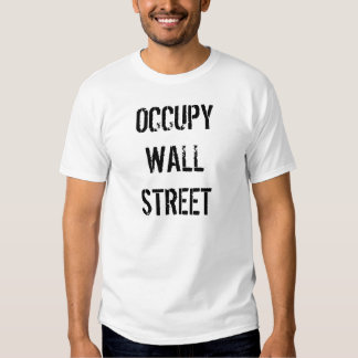Occupy Wall Street Shirts