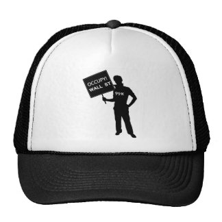Occupy Wall Street Sign Cap