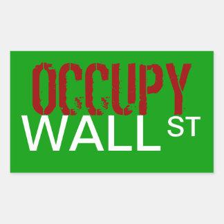 """Occupy Wall Street"" Sticker"