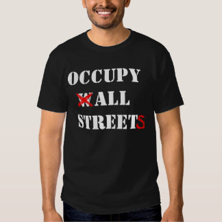 Occupy Wall Street Tees
