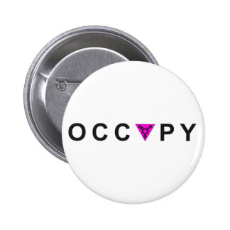 Occupy Wall Street Transgender Pride 6 Cm Round Badge