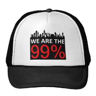 Occupy Wall Street - We Are The 99% Trucker Hats