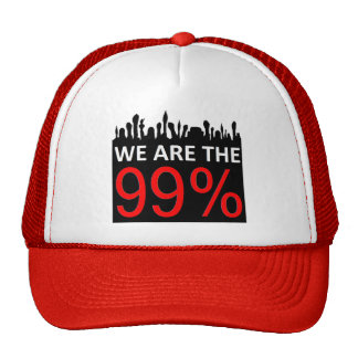 Occupy Wall Street - We Are The 99% Cap