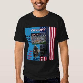 Occupy Wall Street - Zuccotti Park 2011 Tshirts