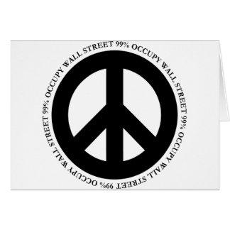 occupy wallstreet card
