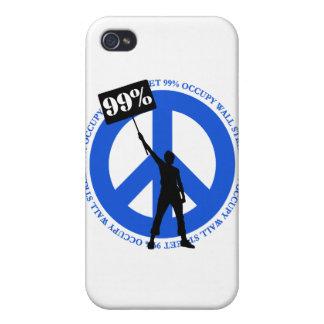 Occupy Wallstreet iPhone 4 Case