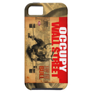 Occupy Wallstreet - Stop The Bull - Phone case